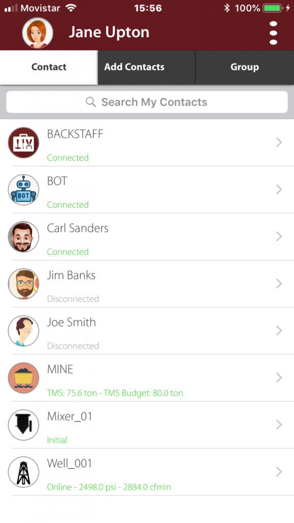 BackStaff Contact List