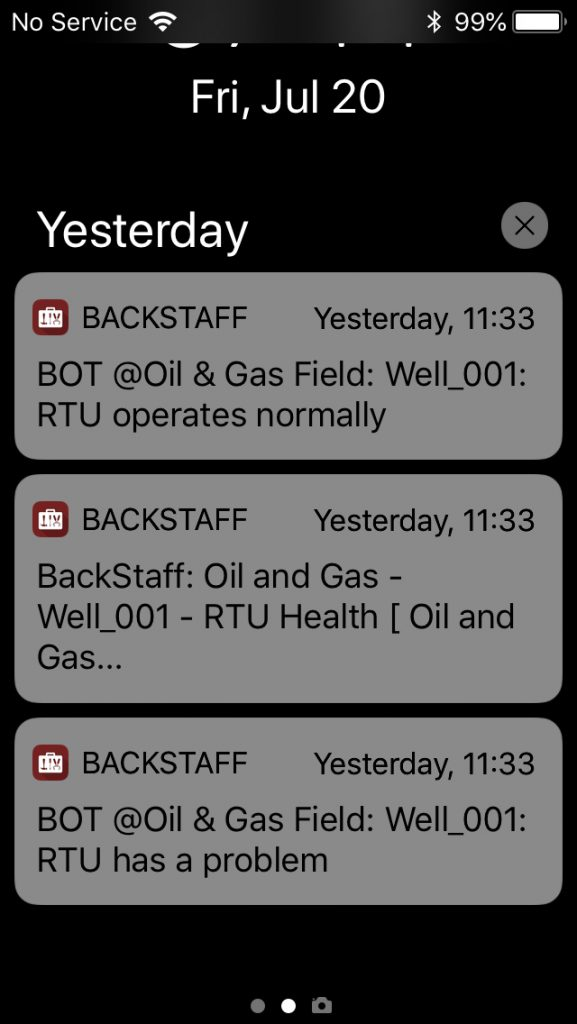 BackStaff Notifications